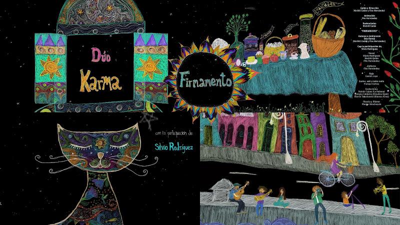 Dúo Karma & Silvio Rodríguez - ¨Firmamento¨ - Videoclip / Dibujo Animado - Dirección: Fito Hernández - Xóchitl Galán. Portal Del Vídeo Clip Cubano