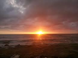 Suasana Sunset di Pelabuahan ratu