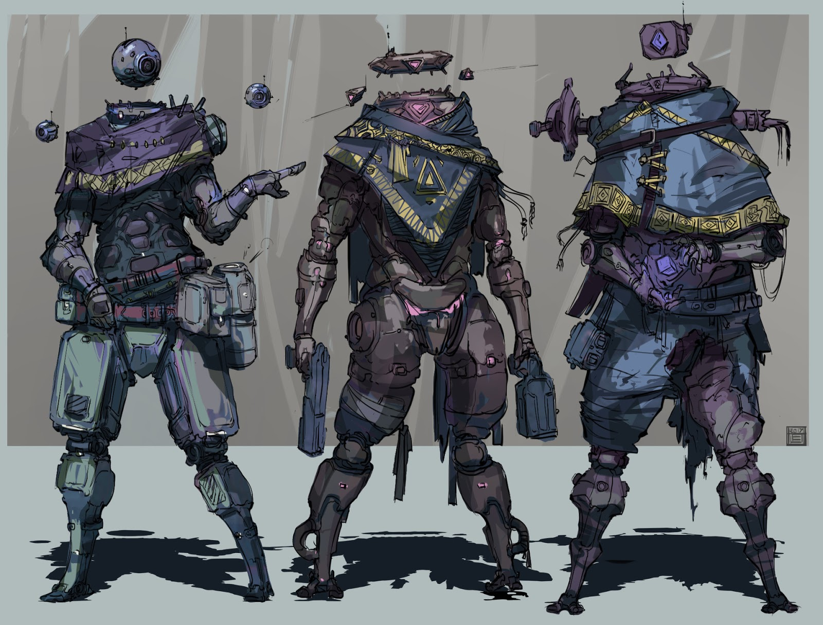 Images: A Collection Of Sci-Fi Concept Art From Hue Teo