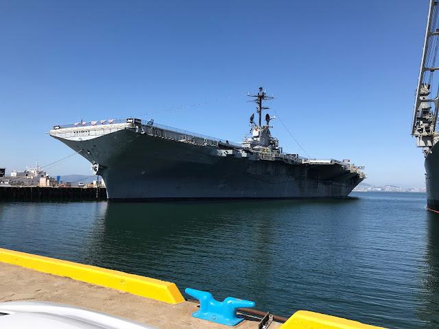 USS Hornet, Alameda, California