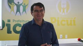 Prefeito de Picuí faz balanço administrativo de sua gestão em 2017; veja vídeo