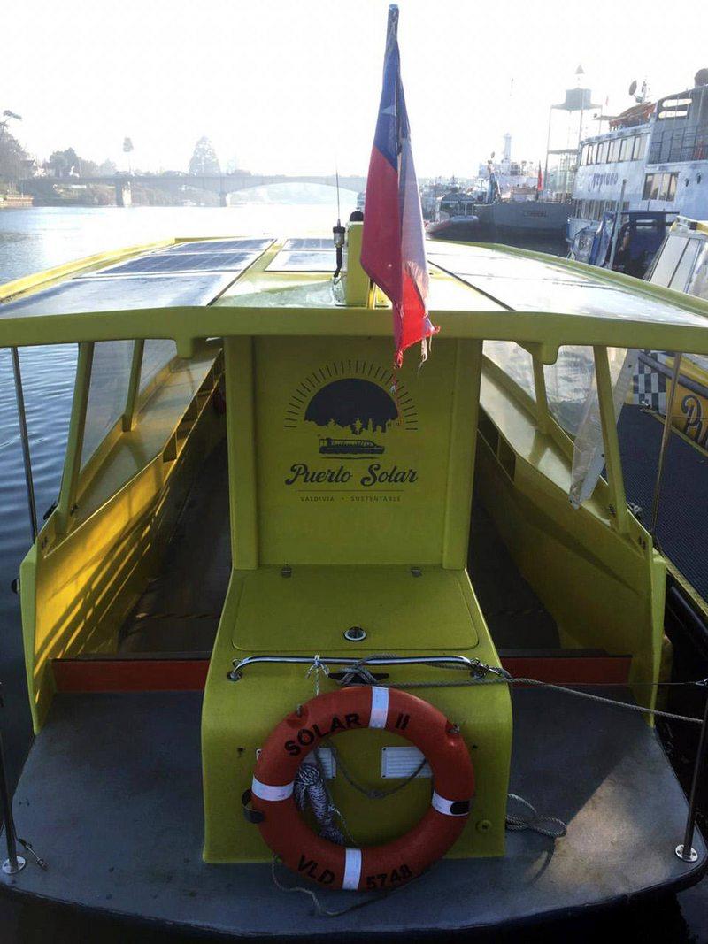 Debutan lanchas eléctricas para transporte público en Valdivia