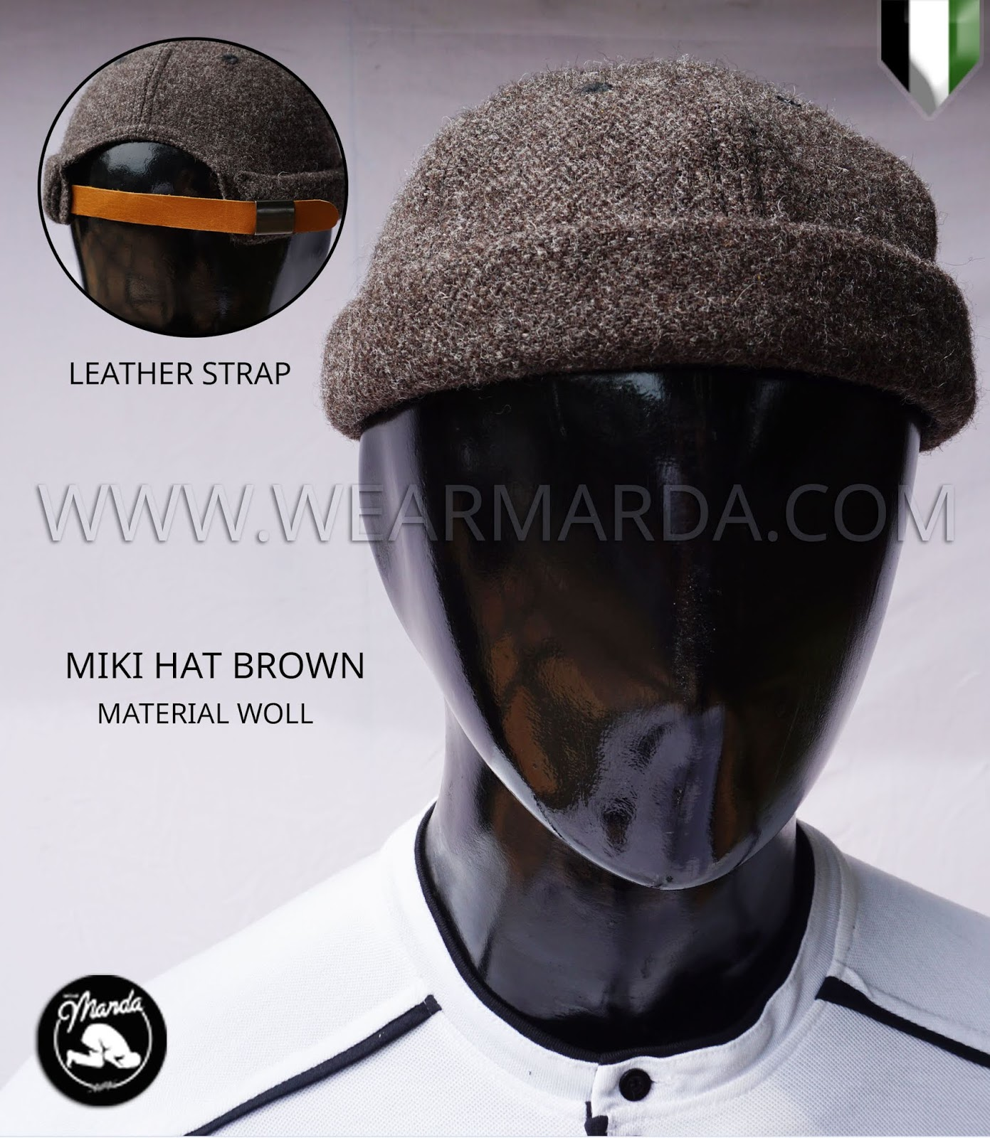 MIKI HAT BROWN