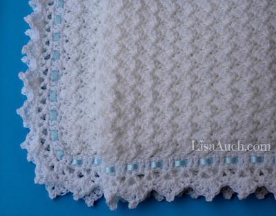baby blanket free crochet pattern- little clouds baby blanke tpattern