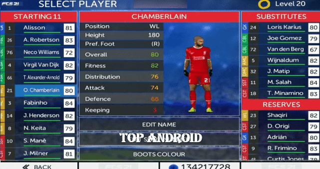 Download First Touch Soccer 21 for Android | The last transfers