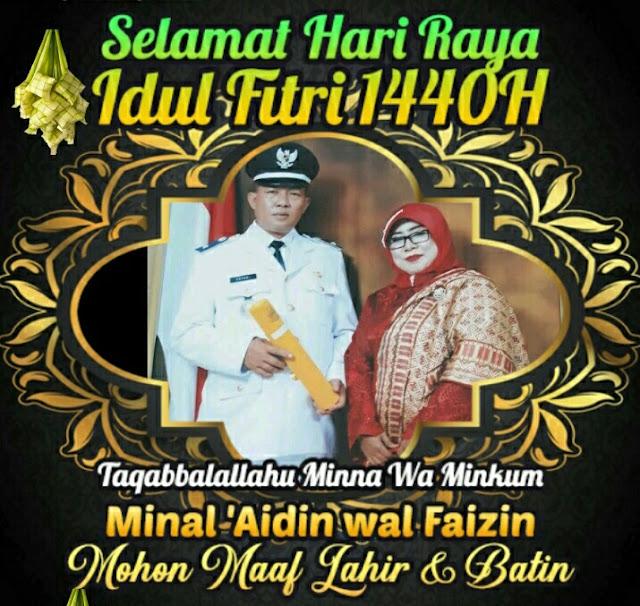 Kades Suka Mekar Jayadi Mengucapkan, Selamat Hari Raya