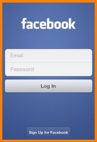 Login With Facebook Mobile App