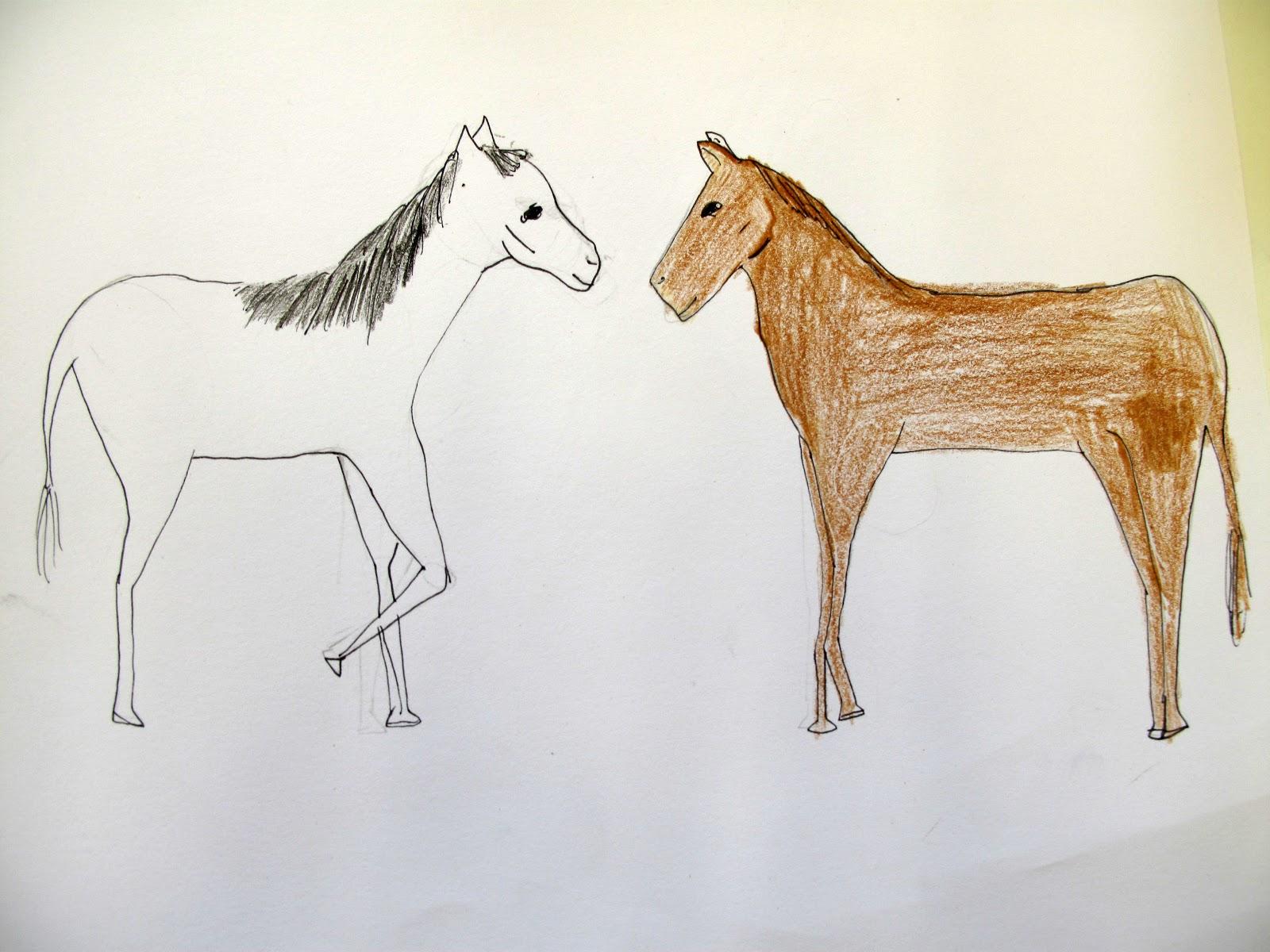 Beroemd de kinderacademie: paarden tekenen in de donderdagles @HH83