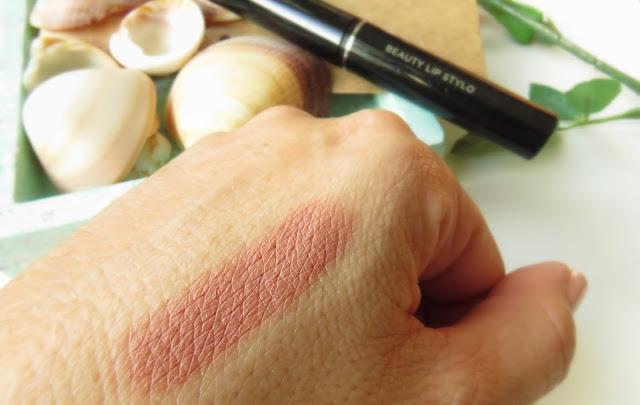 saveonbeautyblog_avon_cappuccino_lip_stylo_swatch