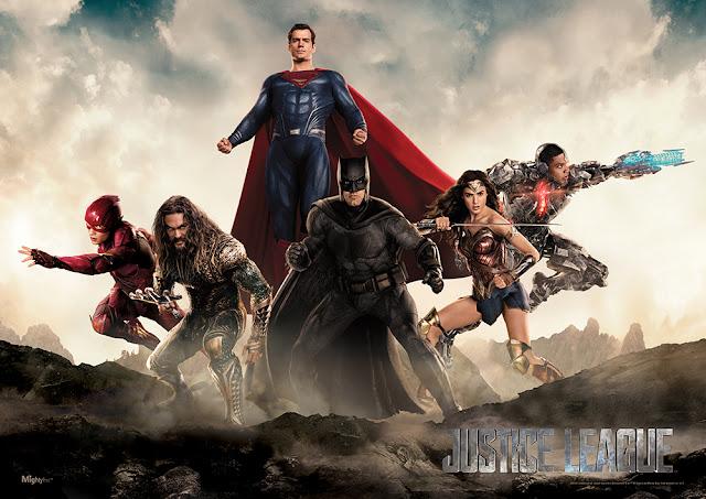 Justice League ဇာတ္ကားအတြက္ Promo ဓာတ္ပံုသစ္မ်ားထြက္ရွိလာ