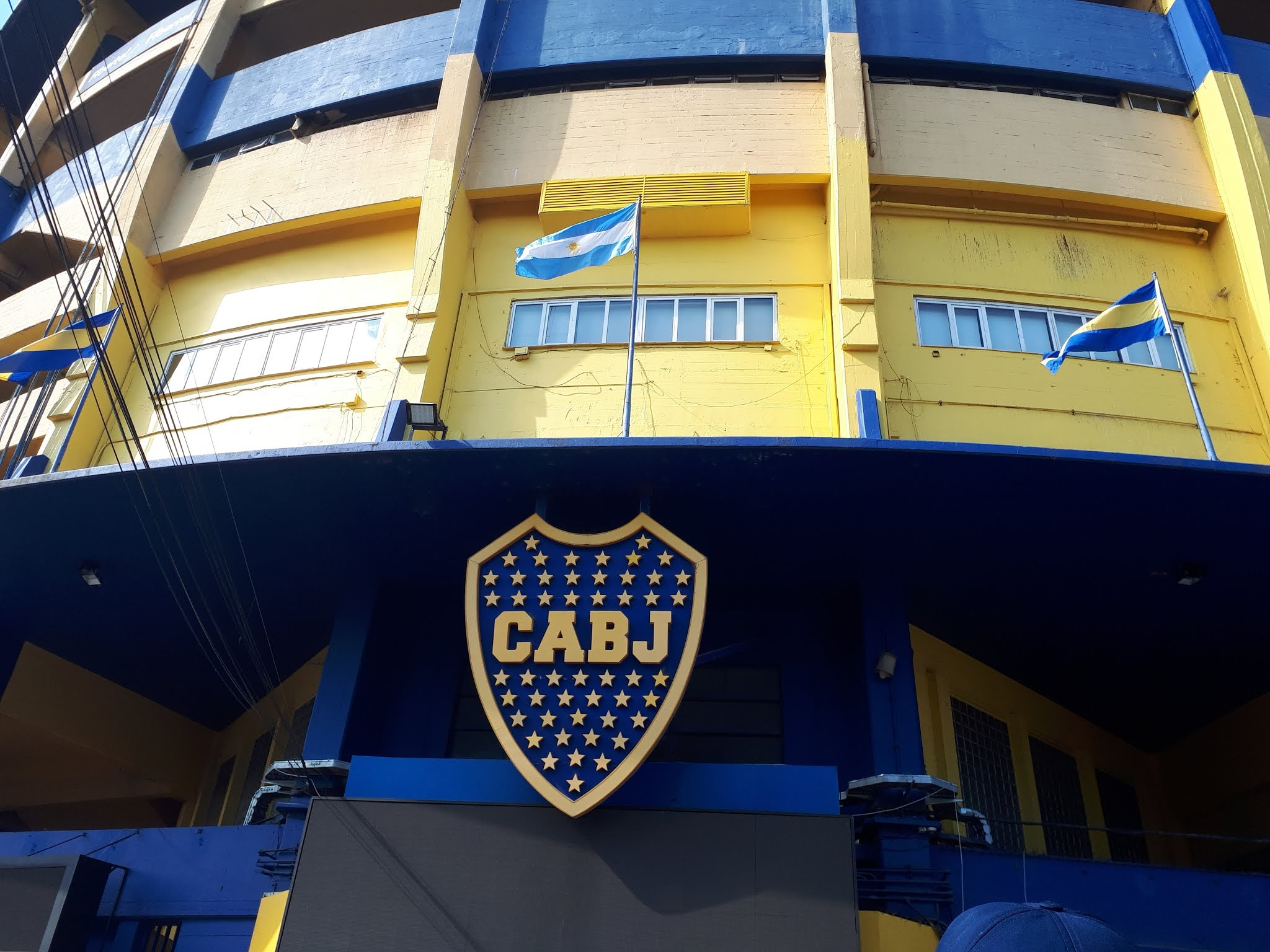 La Bombonera estádio sede do Boca Juniors