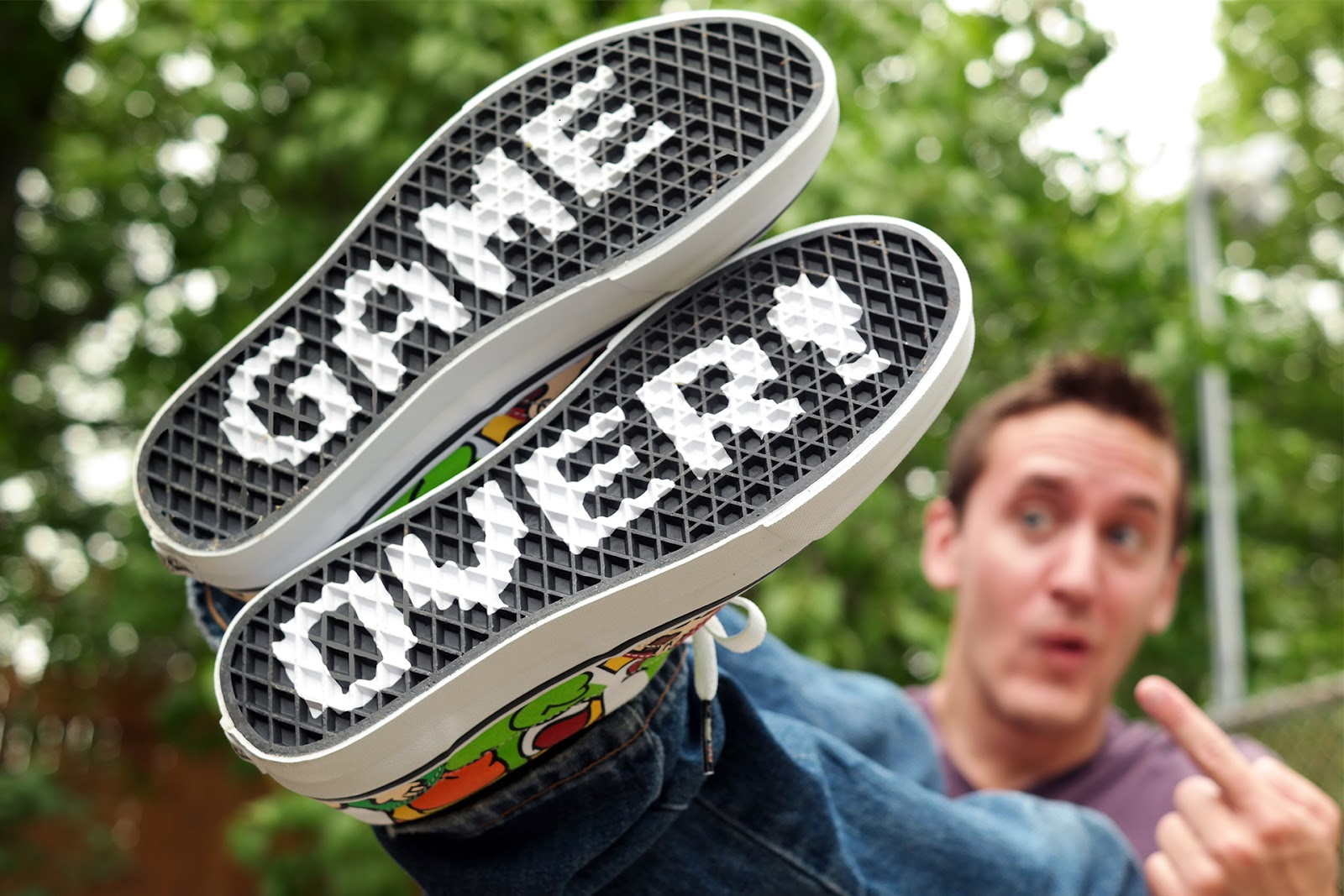 Vans x Nintendo Game Over Shoe Collection