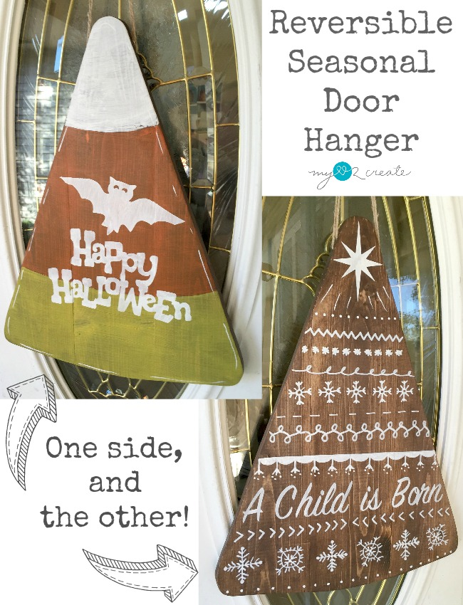Reversible door hanger for under $10