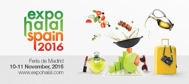 Expo Halal Spain 2016 . 10 y 11 de noviembre en Ifema