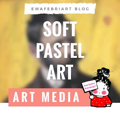 soft pastel art
