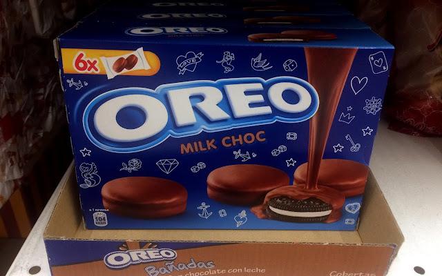 Печенье Oreo «Milc Choc» покрытое шоколадом, Печенье Орео «Milc Choc» покрытое шоколадом состав стоимость пищевая ценность Россия 2018