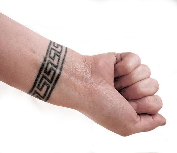 Tatuaje Sencillo Para Hombre Diseno Brazalete Imagenes Y Disenos