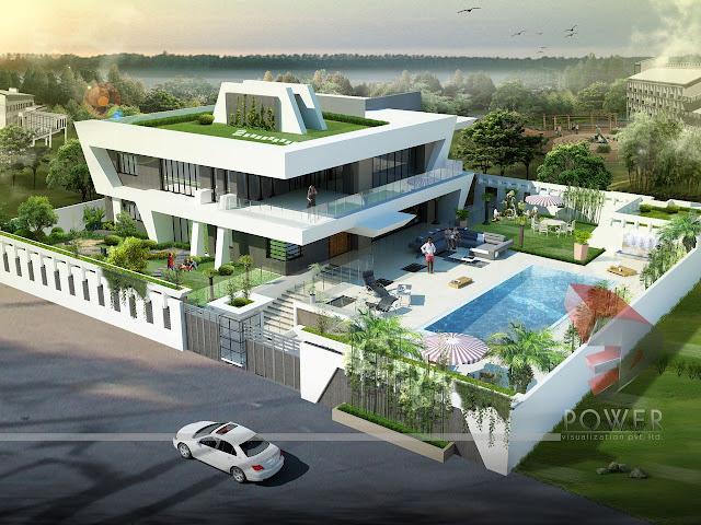 Duplex Bungalow/ House Exterior Design Pictures In India
