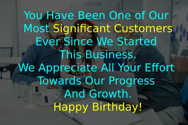 Birthday Wishes for Customer for Marketing Platform