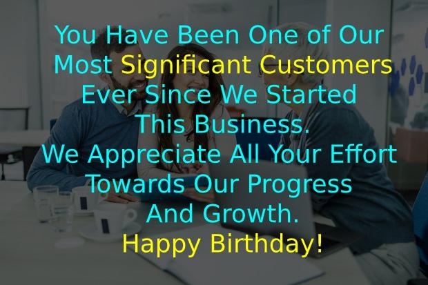 Birthday Wishes for Customer for Marketing Platform