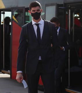 Llegada del Real Madrid a Milán