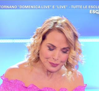 Barbara D'Urso flop domenica Live