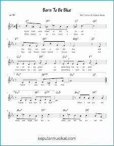 chord born to be blue 1 lagu jazz standar