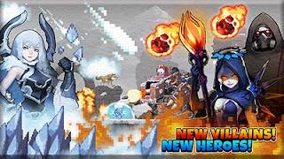 Download Crusaders Quest 3.3.5.KG MOD APK (Mega Mod) Terbaru