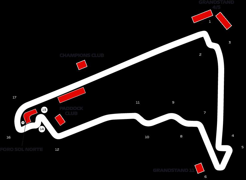 Pista del Formula 1 en Mexico Compra Boletos