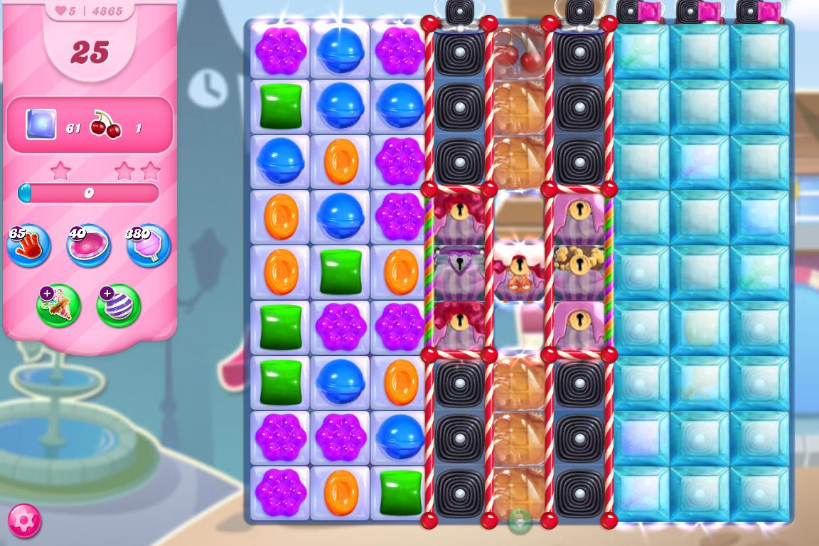 Candy Crush Saga level 4865