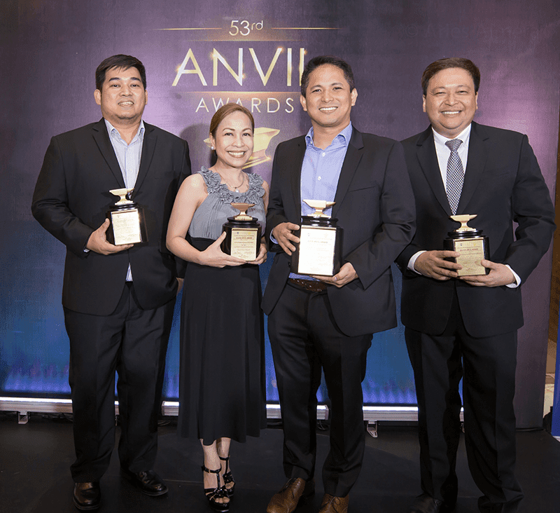 PLDT wins 13 Anvil Awards