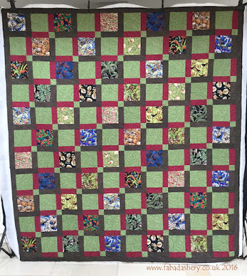 """The Birdwatcher""  New Zealand Quilt made by Sarah,"