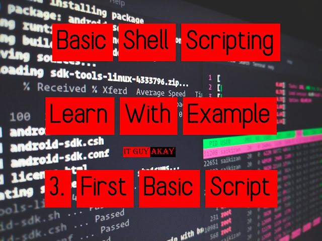 it guy akay basic shell scripting