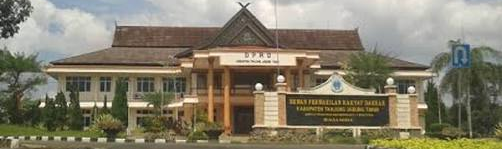 Gedung Kantor Bupati  Kabupaten Tanjab Timur
