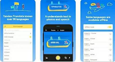 Aplikasi Terjemah - Yandex Translate