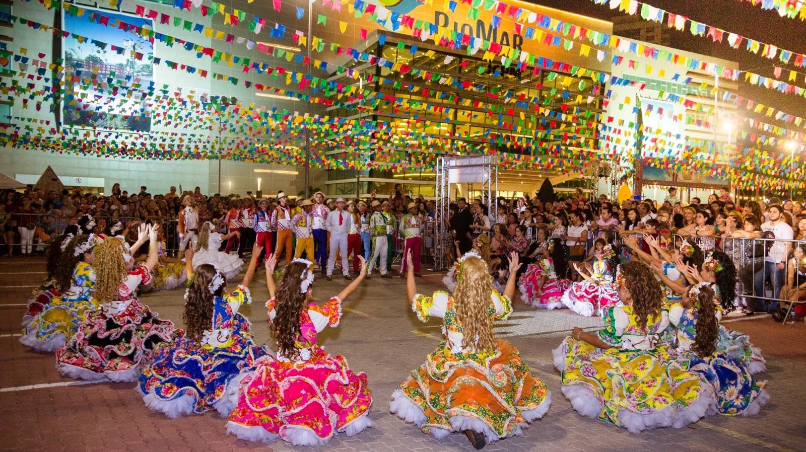 10a18098e08b0 Festas juninas nos shoppings de Fortaleza