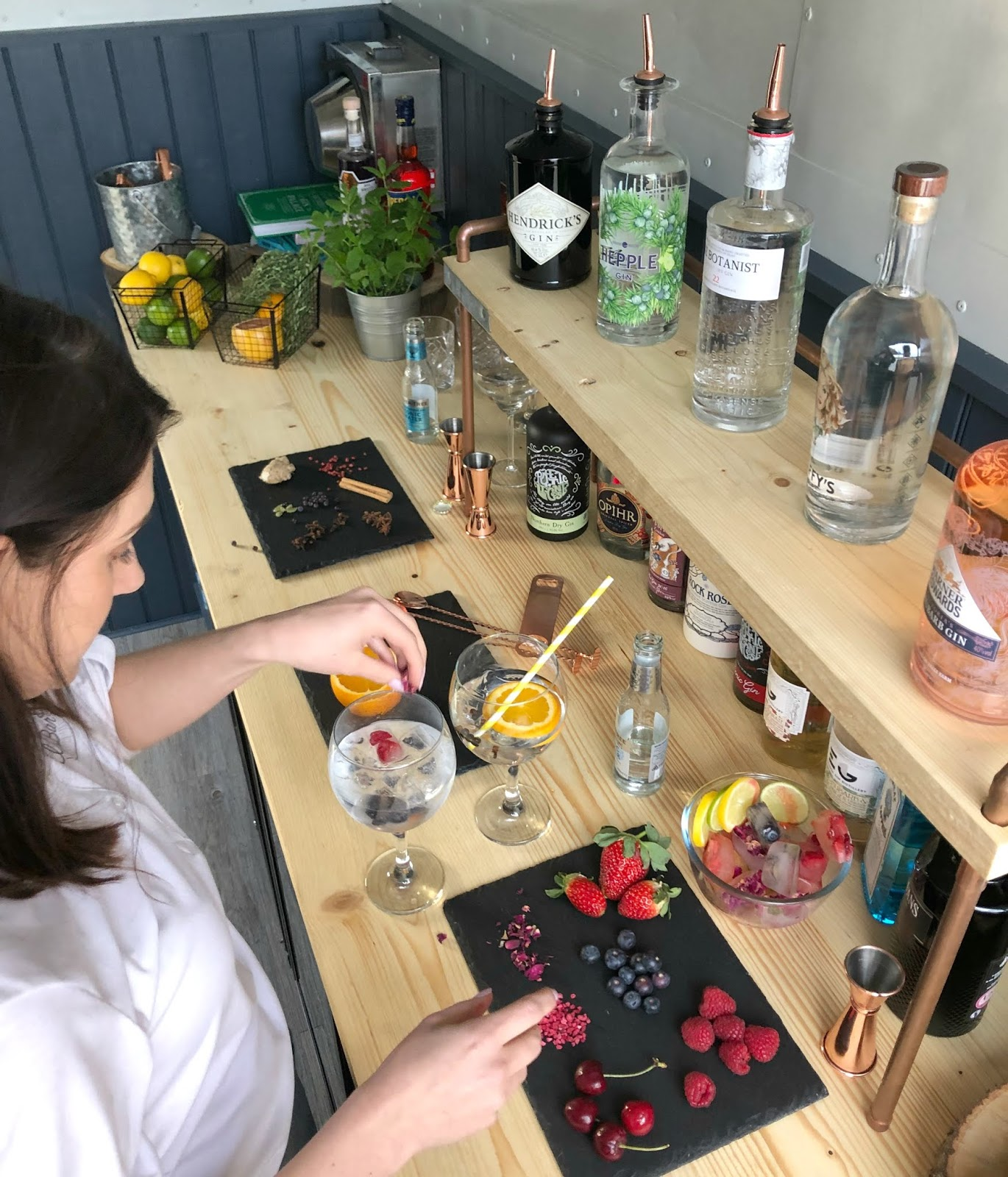 Perfect Gin and Tonic at Home - The Wandering Bar Co: Mobile Horse Box Bar in Newcastle