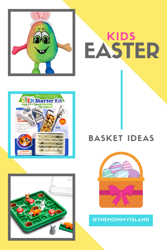 The mommy island unique easter gift ideas for kids of all ages basketideasheroimageg negle Choice Image