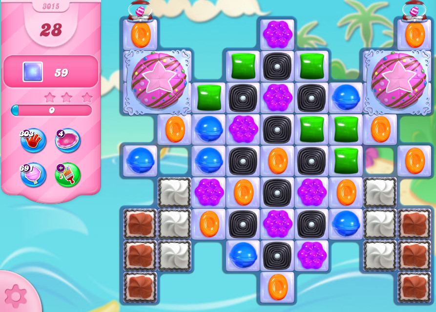 Candy Crush Saga level 3015
