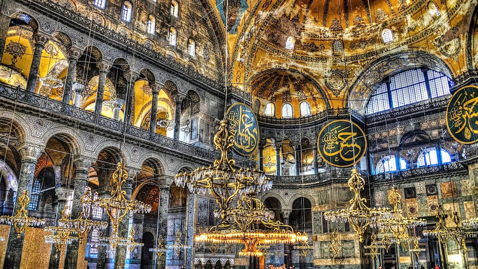5-five-5: Hagia Sophia (Istanbul - Turkey)