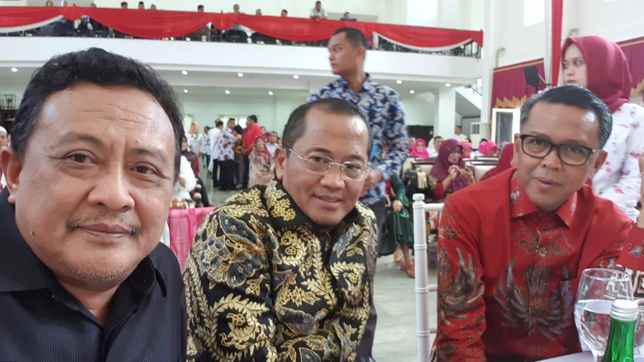 Hadiri Halal Bi Halal, SaDap Ajak Alumni SMANLI Makassar Bersatu Padu