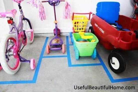 Ruang Parkir untuk Kendaraan Anak-Anak