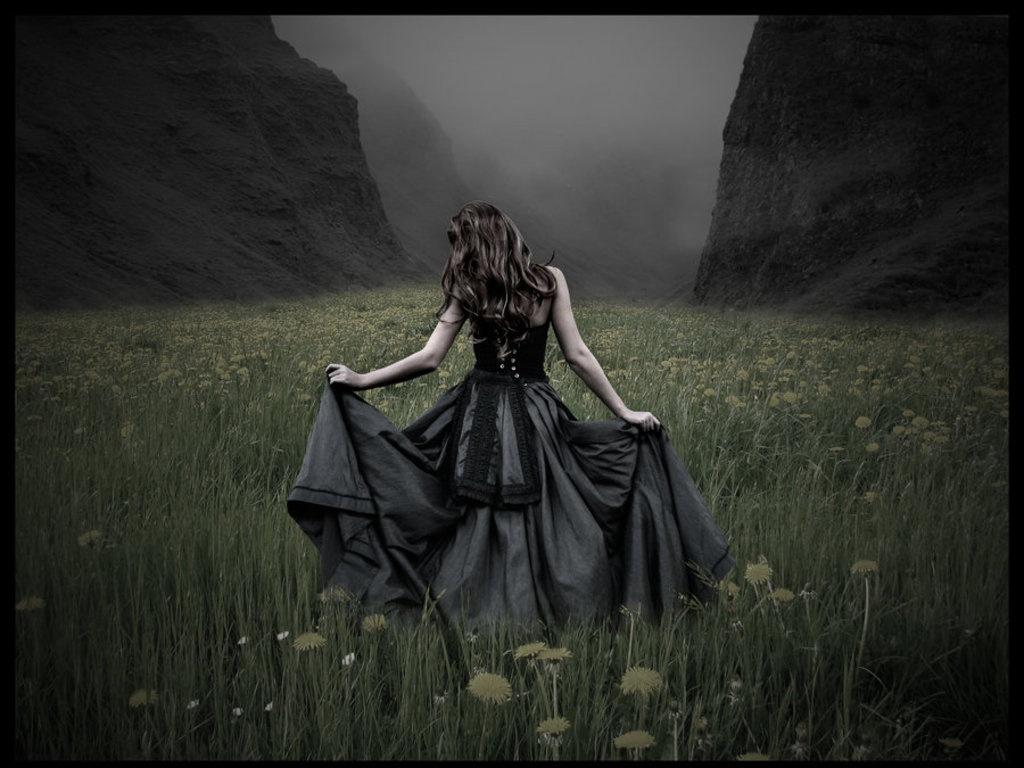 Sonar con vestido de novia antiguo
