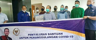 Satgas Covid-19 Labuhanbatu Terima Bantuan APD dari BUMN dan Partai Nasdem