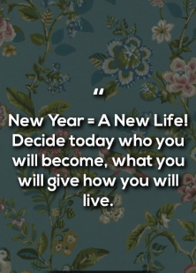 happy new year quotes images in english