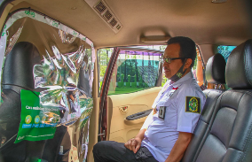 GrabCar Protect Dan Pasukan Siaga Covid Siap Layani Warga