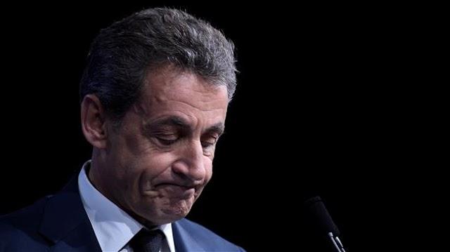 France's former President Nicolas Sarkozy held in Libya financing probe