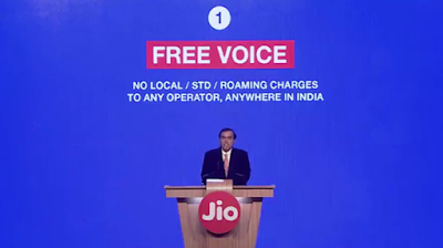 free voice calls on JIO