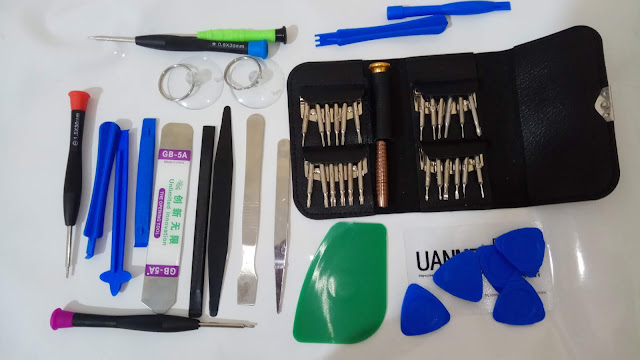 طقم أدوات فتح و اصلاح الهواتف المحمولة 46 في 1  Mobile Phone Repair Tool Set