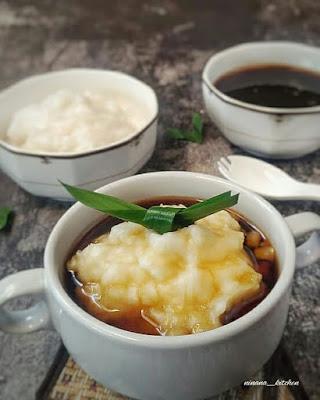 bubur sumsum - menu sarapan pagi orang jawa